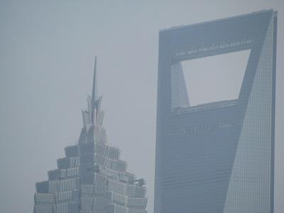 金茂大厦和环球金融中心